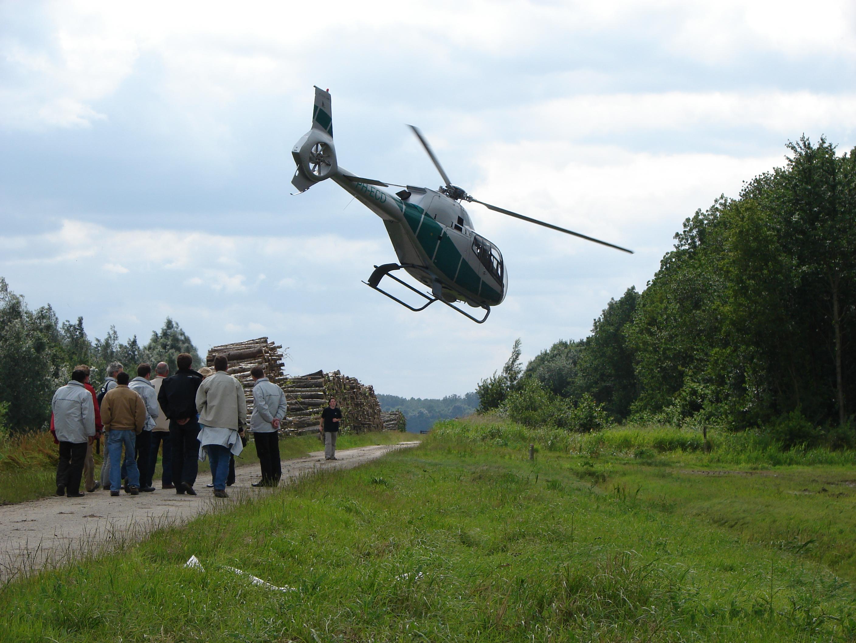 helikopter dropping harderwijk apeldoorn veluwe