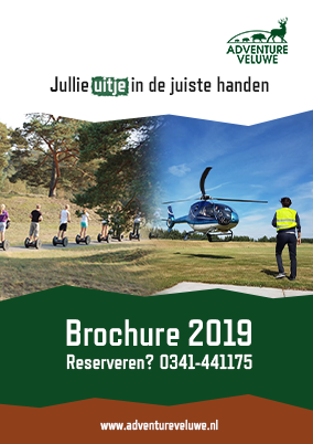 brochure adventure veluwe